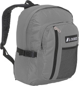 Everest 5045SC-GY 16.5 in. Backpack with Front Mesh Pocket