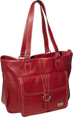 Stafford Pro Leather Laptop Tote 15.6""