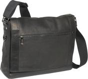 Busi-Mess Essentials - Columbian Leather Messenger Bag