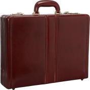 Luxurious Italian Leather Expandable Attach Case