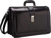 Luxurious Italian Leather 17? Laptop Briefcase