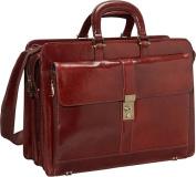 Luxurious Italian Leather Laptop Briefcase