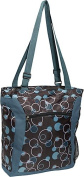 Everest 1002LT-TBB Pattern Shopper Tote with Laptop Compartment