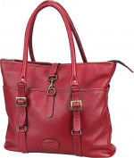 Claire Chase 798E-red New Ladies Computer Handbag - Red