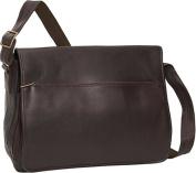 David King & Co 146C Laptop Messenger Bag- Cafe