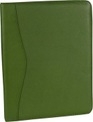 Royce Leather 744-GREEN-5 Deluxe Writing Padfolio - Green