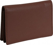 Royce Leather 409-COCO-5 Business Card Holder - Coco