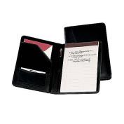 Royce Leather 743-BLACK-9 Jr. Writing Padfolio - Black