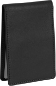 Royce Leather 700-BLACK-5 Flip Style Note Jotter - Black