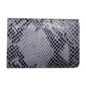 Italian Leather Flip Top Wallet