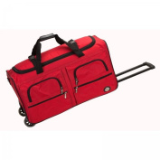 ROCKLAND PRD336-RED 36 Inch ROLLING DUFFLE