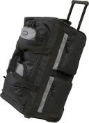 Luggage America SRD-22 22 Inch 8 Pocket Rolling Duffel - Black