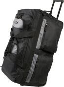 Luggage America SRD-26-BK Sports Plus 26 8 Pocket Rolling Duffel