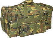 Everest 1027-CM 27 in. 600 Denier Polyester Jungle Camo Print Duffel Bag
