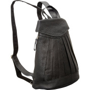 Pleated Mini-Backpack