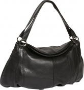 Large Gathered Pouch Handbag
