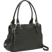Square Top Zip Handbag