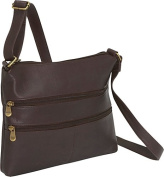 Two Zip Crossbody