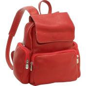 Women's Multi Pocket Back Pack Purse