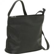 Zip Top Shoulder Bag