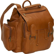 David King& Co 329T Top Handle Backpack- Tan
