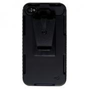 Nite Ize CNT-IP4-01SC Nite Ize Connect Slim Durable Case& Clip for iPhone 4 4s - Black