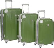 Malibu 3 Piece Hardside Spinner Luggage Set