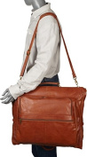 Leather Three-suit Garment Bag