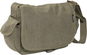 Everest CT-073S-OV 12 in. Cotton Canvas Messenger Bag