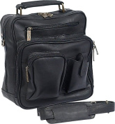 Claire Chase 405E-black Jumbo Man Bag - Black