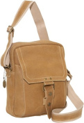 Distressed Leather Day Bag