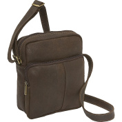 Distressed Leather Men's Day Bag
