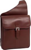 Siamod 25414 Sabotino Cognac Leather Sling Messenger Bag