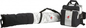 Athalon Sportsgear 135Silver / Black Athalon Two Piece Ski and Boot Bag Set Boxed Silver - Black
