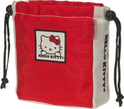Williams Sports Holdings BP-HKG.TC.RED Hello Kitty Golf The Collection Ball & Tee Pouch-Red