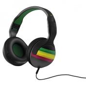 Skullcandy Hesh 2.0 Headphones with Detachable Cable - Rasta