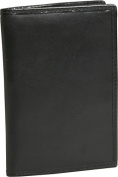 Travelon 72020-50 RFID Blocking Passport Case - Black Cowhide