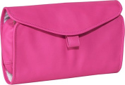 Royce Leather 264-WB-5 Hanging Toiletry Bag - Wildberry