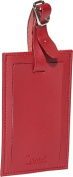 Clava CL-2009 Rectangle Luggage Tag - CL Red