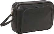 Leather Travel Toiletry Bag