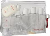 Lewis N Clark 7725 Belle Hop 3 N 1 Carry On Bottle Set