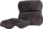 Ultra Fleece Travel Pillow & Eye Mask Set