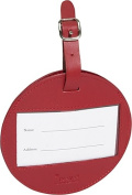 Clava CL-2007 Color Circle Luggage Tag - CL Red