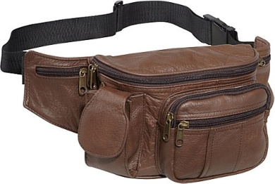 Leather Cell Phone/Fanny Pack