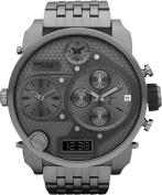 Diesel Men's DZ7247 'Mr Daddy' Grey Oversized Chronograph Stainless Steel Watch