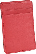 Royce Leather 117-RED-5 The Magic Wallet - Red