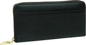 Donington Gold Zip Clutch Wallet