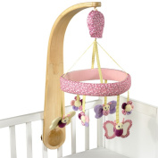 Little Bird Told Me Luxury Cot Mobile Pink