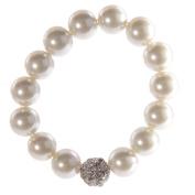 Faux Champagne Pearl Bracelet