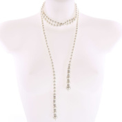 Faux Champagne Pearl String 150cm